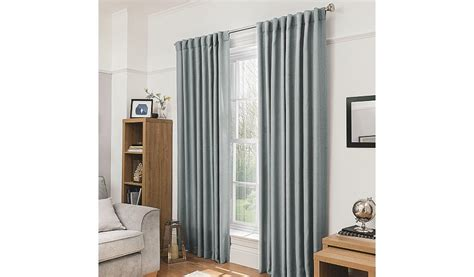 george home light grey blackout curtains home garden