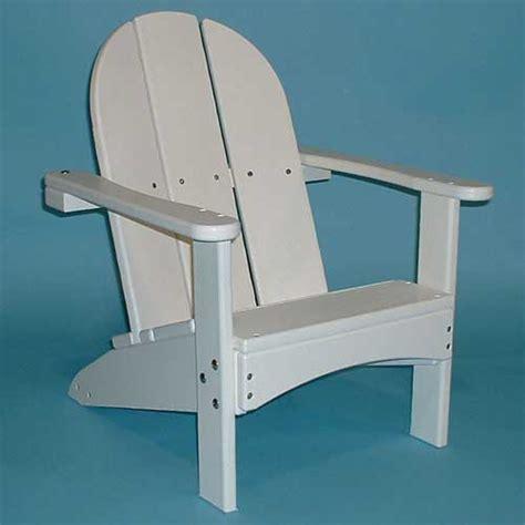 childrens adirondack chair white tailwind kid s adirondack chair kd 700 white lifeguard