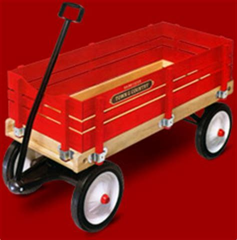 Permalink to Radio Flyer Town & Country Wagon