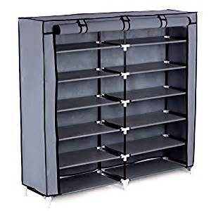 Grand Meuble A Chaussure by Amazon Com Songmics 7 Tier Shoe Rack 36 Pair Portable
