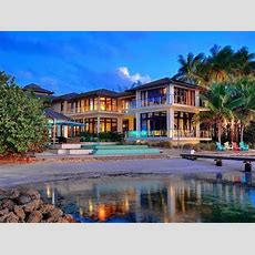Private Beach Home In Biscayne, Florida  Youtube