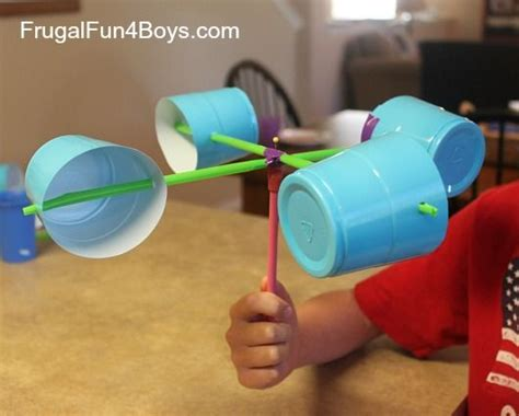 projects to make frugal science projects and plastic cups on