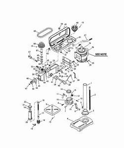 Ryobi Dp101 Parts List
