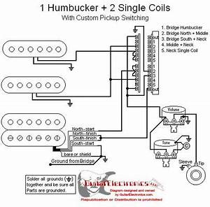 1 Humbucker  2 Single Coils  5 1 Volume  1 Tone  02