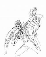 Ultraman sketch template