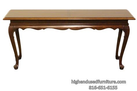 ethan allen sofa table ethan allen georgian court cherry 60 sofa console table