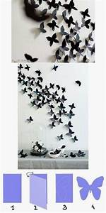 Beautiful butterfly wall decoration pictures photos and
