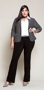 5 stylish plus size outfits for a job interview - curvyoutfits.com