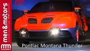 Pontiac Montana Thunder Concept MPV YouTube