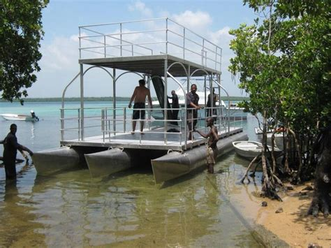 Used Pontoon Boats With Upper Deck For Sale by Best 25 Party Barge Ideas On Pinterest Pontoon Boats