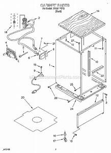 whirlpool dp920pfgy2 parts list and diagram With 3367443 pump and motor diagram and parts list for whirlpool dishwasher