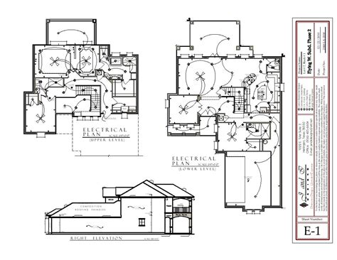 2 storey house electrical plan home deco plans