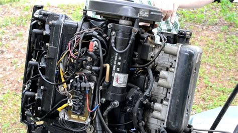 mercury  outboard starter removal youtube