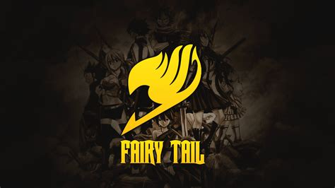 fairy tail emblem wallpapers  wallpapers hd wallpapers