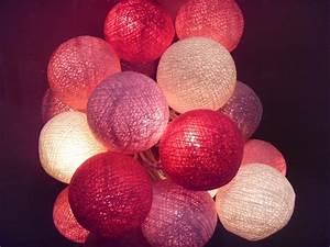 Guirlande Boule Lumineuse : guirlande boule lumineuse d co ~ Teatrodelosmanantiales.com Idées de Décoration