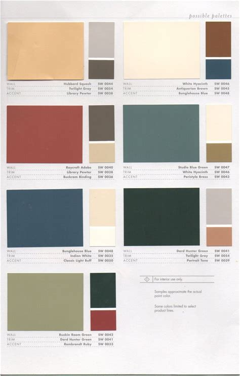 colors for interior walls in homes 17 best images about 1920s house colors on