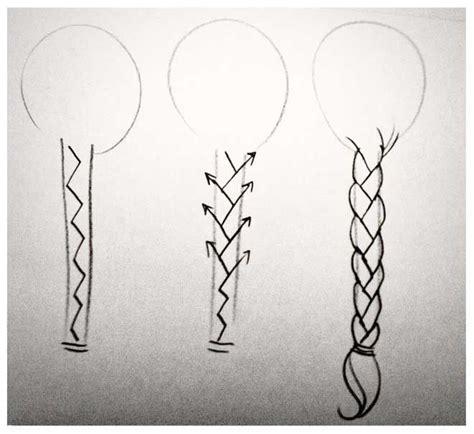 draw  braid step  step images