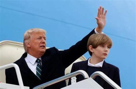 特朗普称小儿子感染新冠15秒痊愈,你信吗?_腾讯新闻