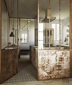 Sejour Style Industriel : la verri re dans la cuisine 19 id es photos ~ Teatrodelosmanantiales.com Idées de Décoration