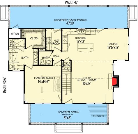 house plans with in suites three bed country home plan with two master suites