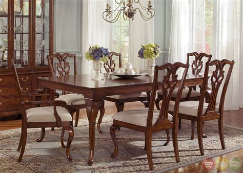 ansley manor rectangular formal dining room set