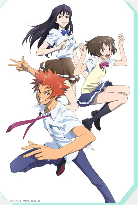zegapain mayhem reality bending movie anime project tv series adaptation promises mecha trailer crunchyroll 10th summary anniversary feature shizuno misaki