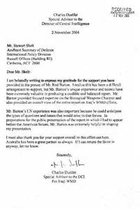 four corners 14 02 2005 letter from the cia