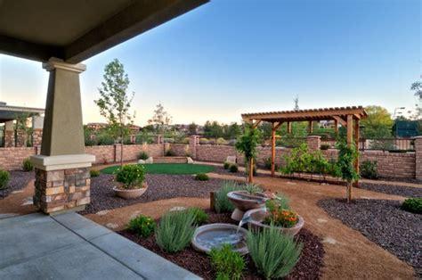 Arizona Backyard Landscape Ideas by The Backyard Of The Luxury Home Model Augusta By Dorn