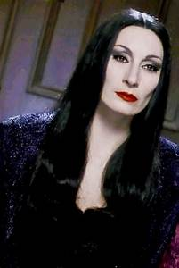 Anjelica Huston as Morticia Addams | Addams Family: Movies ...