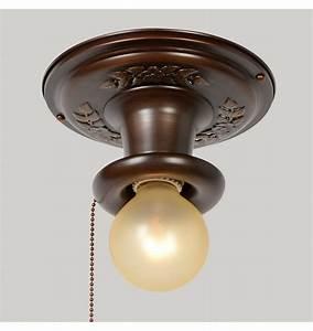 Ceiling lighting pull chain light fixture free