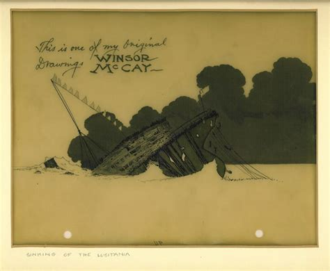 rms lusitania sinking animation animation cel of the lusitania animation