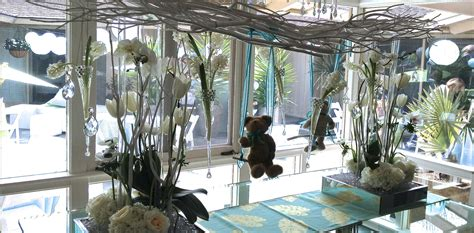 Baby Shower Venues San Diego by Thistle Dew Floral Event Design 187 Baby Shower Boy