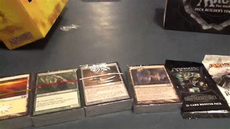 Magic Deck Builder Toolkit 2013 by Magic The Gathering 2013 Deck Builders Toolkit Unboxing