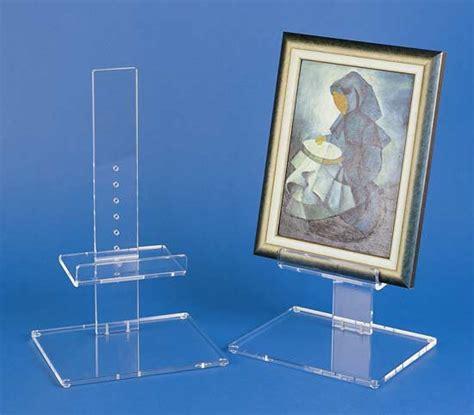 chevalet pour tableaux plexiglas