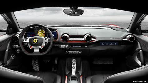 2018 Ferrari 812 Superfast Interior Cockpit Hd