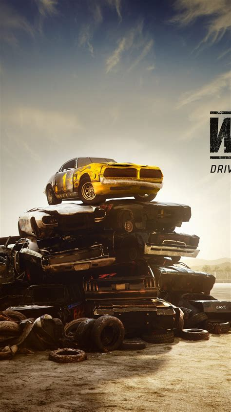 wallpaper wreckfest  car game   poster