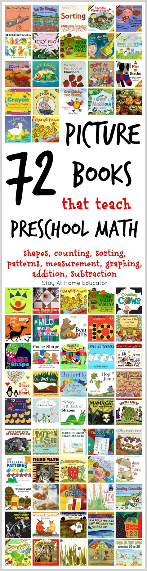72 of the absolute best math picture books for 216   72 pictures books that teach preschool math