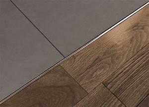 Schluter®-SCHIENE Same-height Transitions For Floors