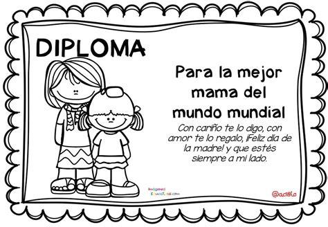 diplomas para colorear d 237 a de las madres 10 de mayo 1 imagenes educativas