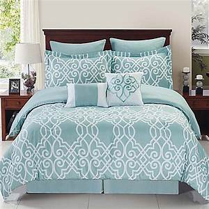 dawson reversible comforter set in blue white bed bath With bed bath and beyond full size sheets