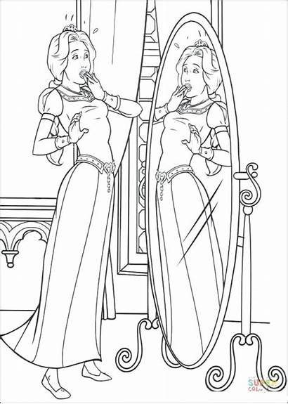 Mother Gothel Coloring Pages Tangled Princess Getdrawings