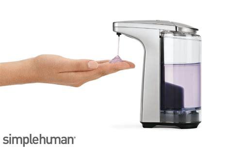 Simplehuman Sensor Hands Free Soap Pump Dispenser Bathroom