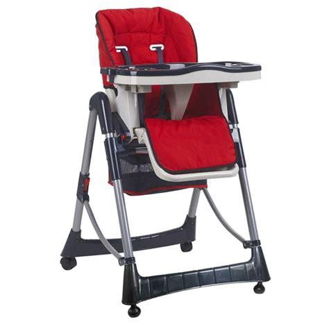 chaise haute bébé la redoute chaise haute bébé pliable réglable hauteur dossier et