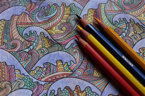 the therapeutic science of coloring books how this childhood pastime helps adults relieve