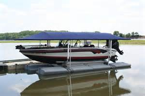 Sunstream Boat Lifts for Floating Docks