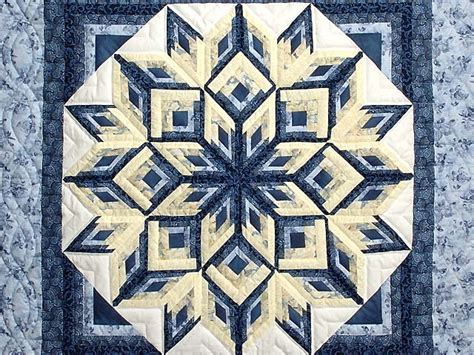 Diamond Log Cabin Quilt    magnificent adeptly made Amish Quilts from Lancaster (wh2411)