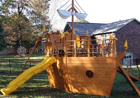 Pirate Ship Backyard Playset by Carolina Playsets Llc Hudson Nc 28638 Angies List