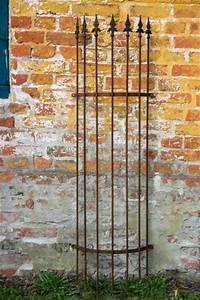 Rankgitter Metall Rost : rankgitter metall halbrund f wand 1 50 m rost ~ Watch28wear.com Haus und Dekorationen