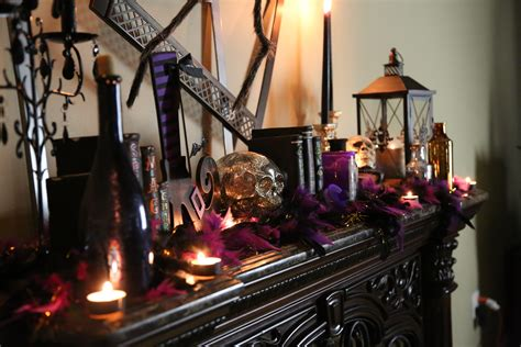 ideas for mantel decor hair raising mantel decorating ideas
