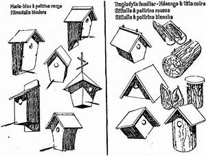 Plan Nichoir Oiseaux : plans de nichoirs pour oiseaux du ciel ~ Melissatoandfro.com Idées de Décoration